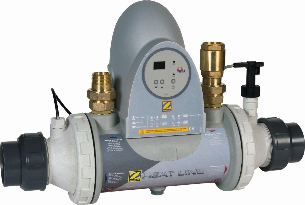 Tepelný výmenník ZODIAC HEAT LINE Kompakt bez obehového čerpadla; Titan 20 kW