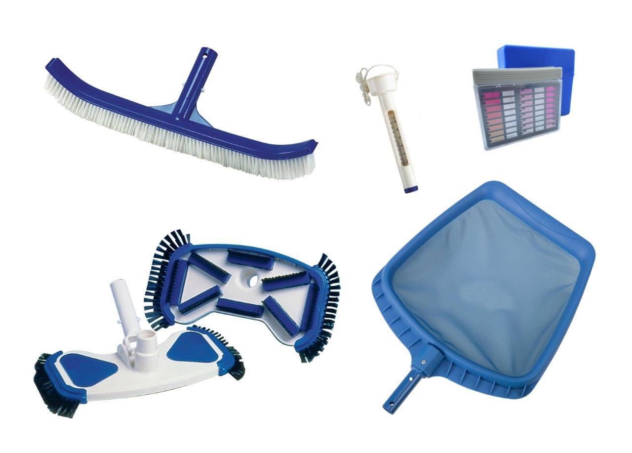 Tisztító készlet Kit De luxe medencéhez