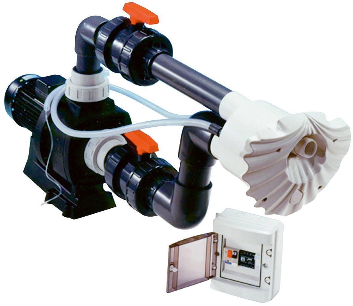 Protiproud K-JET Sena -- 70 m3/h, 400 V, 3,3 kW, pro fólii a předvyrobené baz.