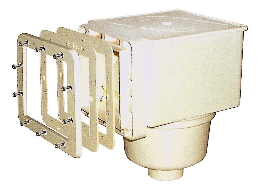 SKIMMER V10 ABS pro fólie, 150 x 150 mm, s mosaznými zástřiky