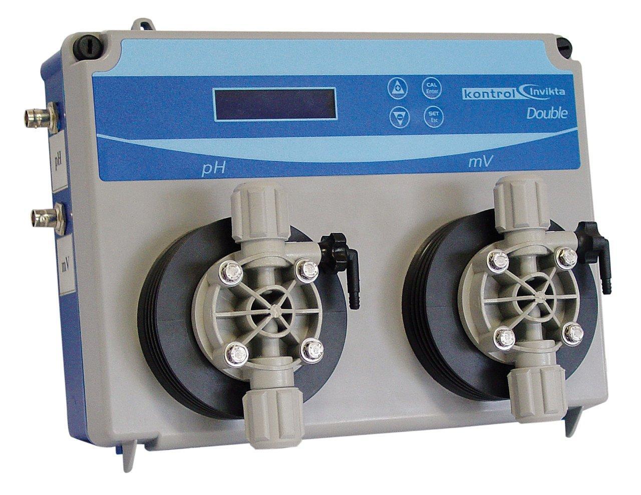 Invikta pH & ORP, digitální indikace, 2x magnetická dávkovací pumpa