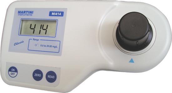 Fotometrický tester MI 411 - Volný/Celkový CL,PH