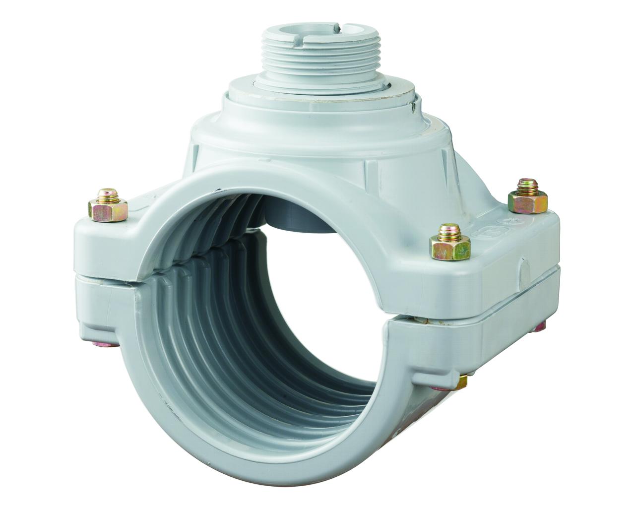 Digit. průtokoměr - Sedlo navrtávací 110 mm pro senzor průtoku