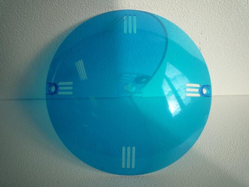 Barevná clonka - Světlo VA 300 W (modrá)