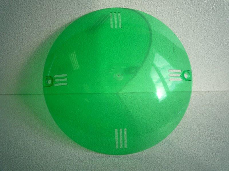Barevná clonka - Světlo VA 300 W (zelená)