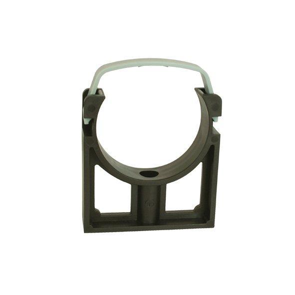 PVC Trubková svorka 63 mm s klipsem CH