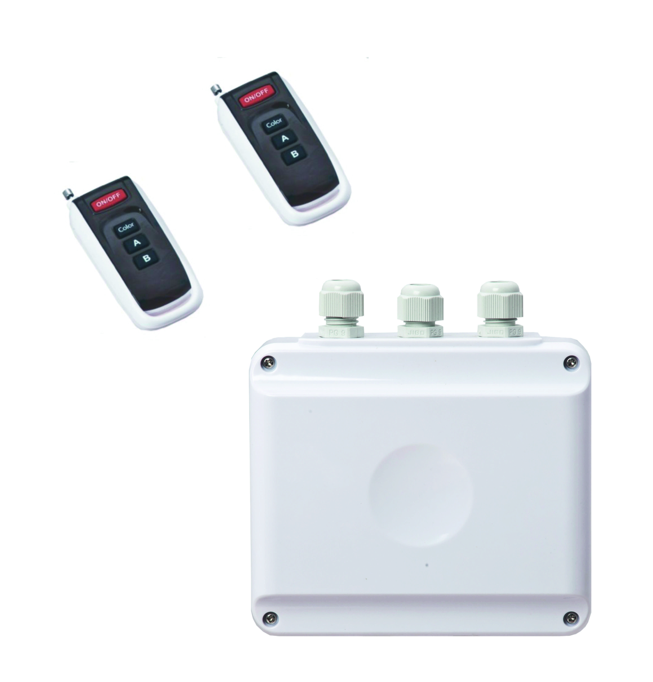 Dálkové ovládání + 2 klíčenky pro světla ADAGIO