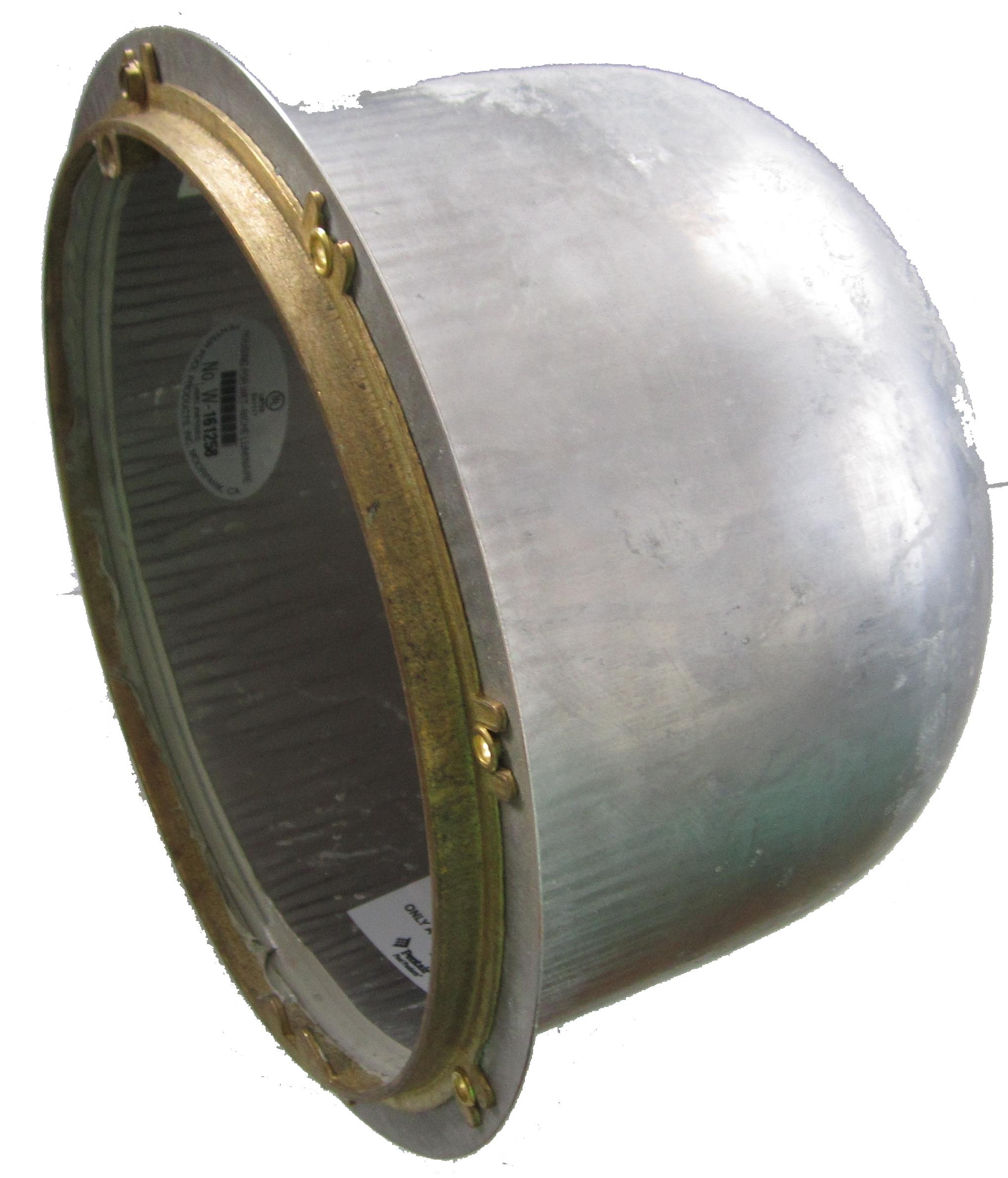 """Nerez """"hrnec"""" pro světlo SamLight 150 W, do betonu"""