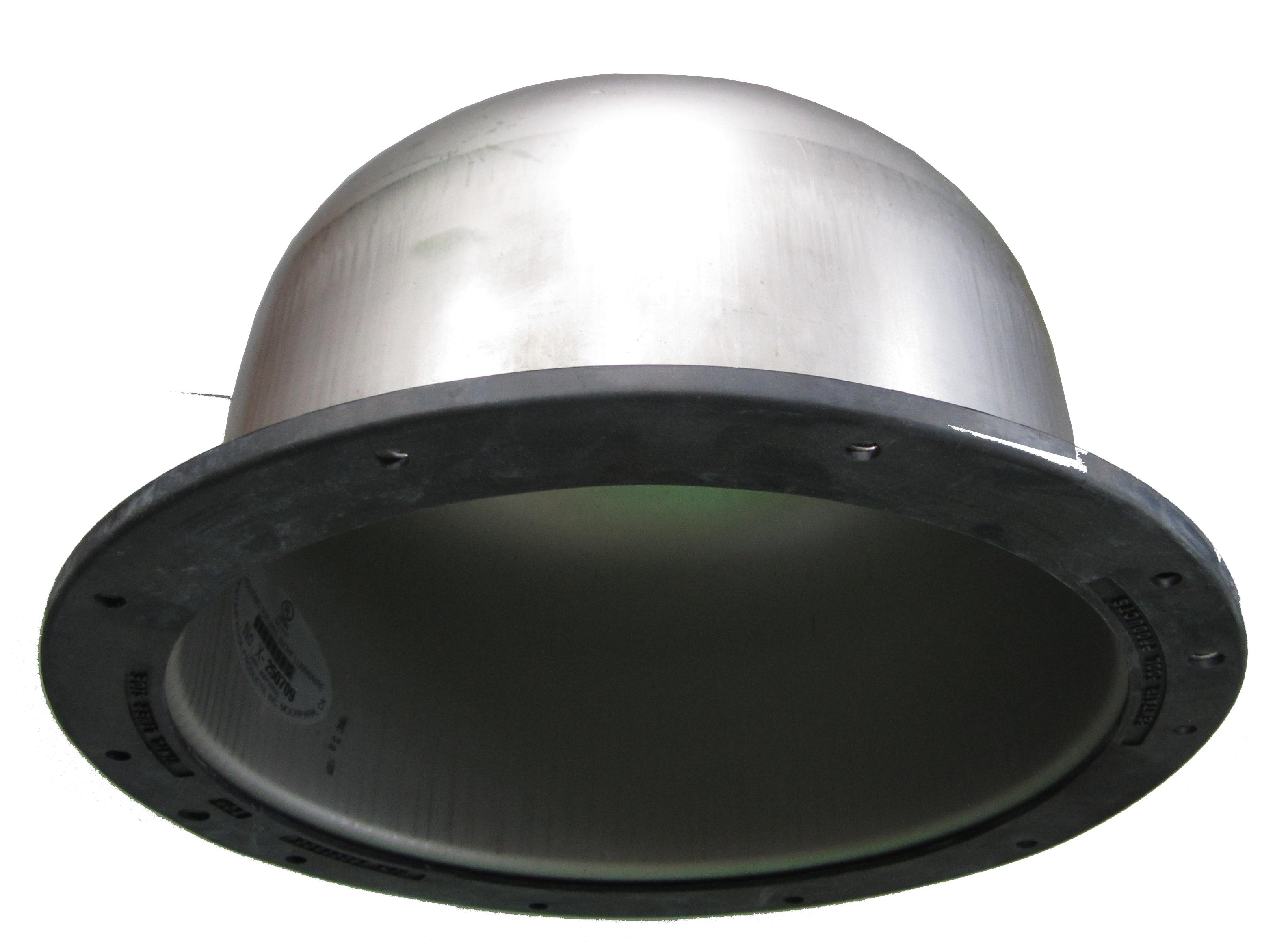 """Nerez """"hrnec"""" pro světlo SamLight 150 W, do fólie"""