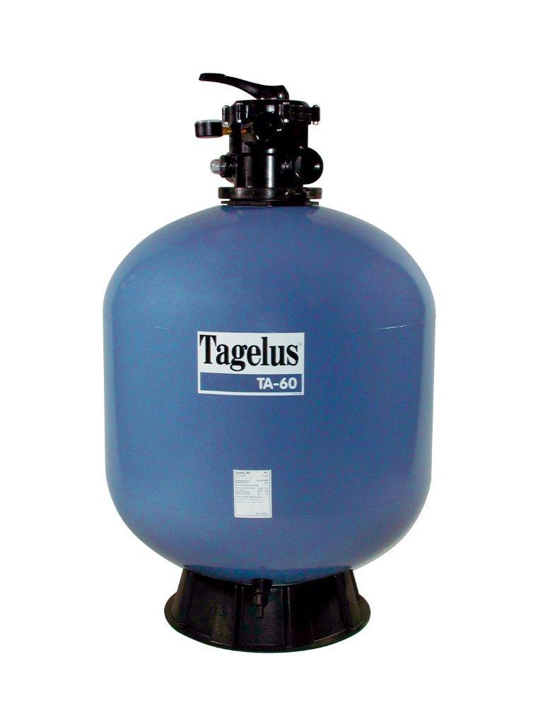 Filtrační nádoba TAGELUS - TA 40,480 mm,9 m3/h,6-ti cest. top-ventil