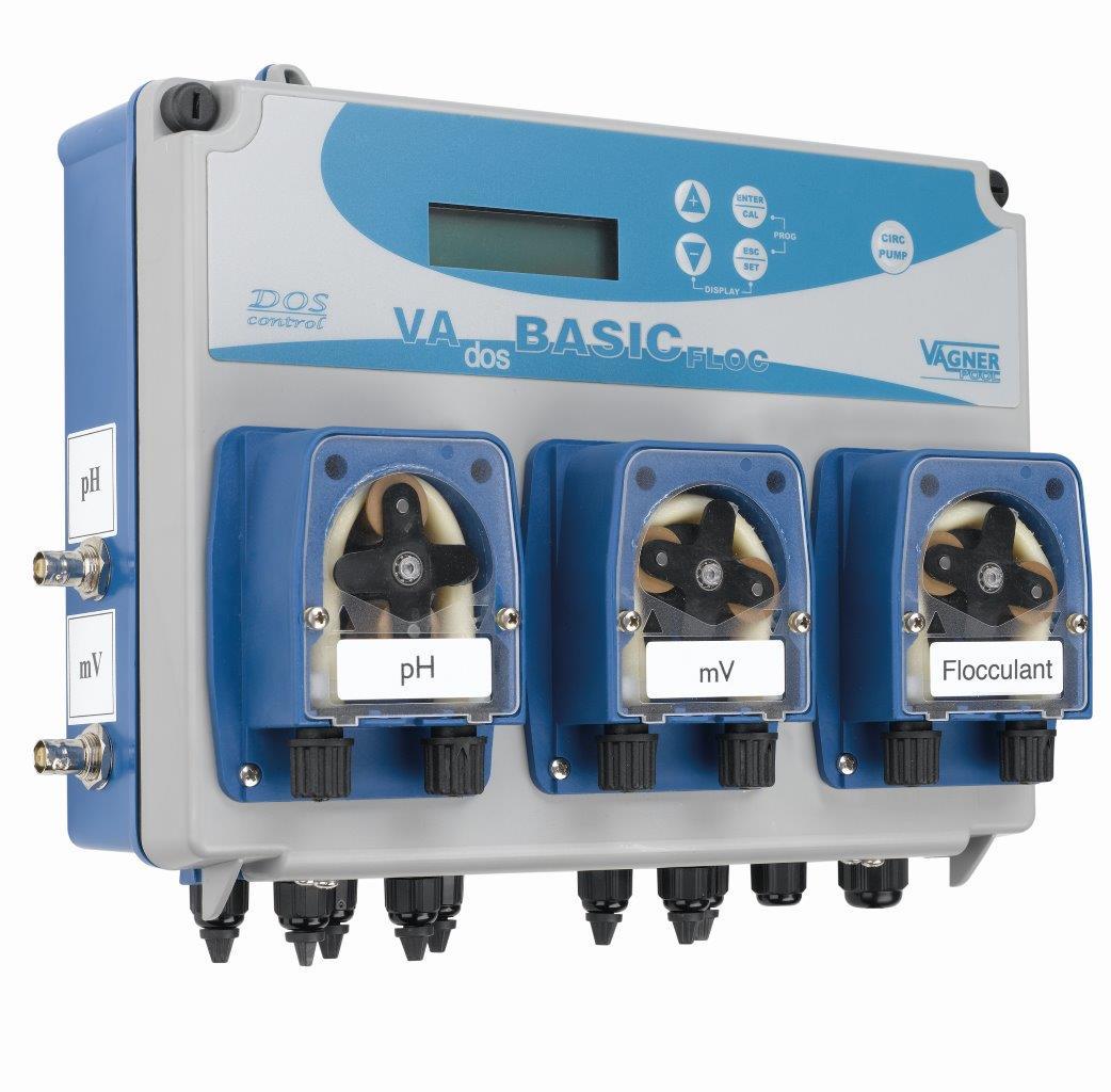 Dávkovací stanice VA DOS BASIC FLOC pH/ORP/Flokulant (na objednání)