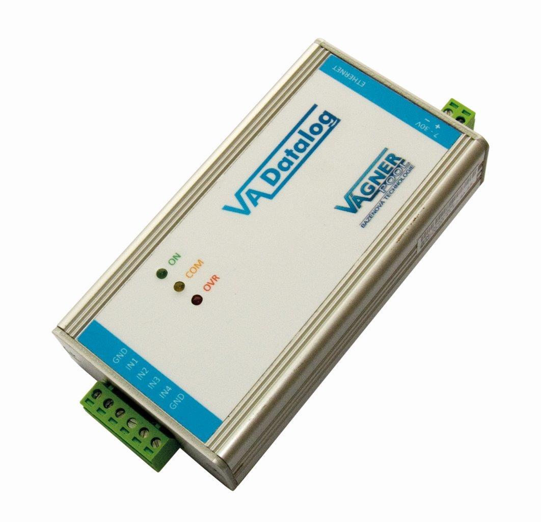 VA DATALOG FLS -- komunikace s PC, záznam dat (protokol 4--20 mA)