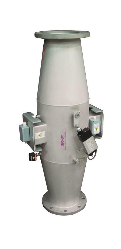MP 100 TS - UV Sterilizátor středotlaký 1000 W, DN125