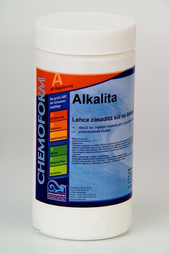 Alkalita 1 kg, zvyšuje alkalitu