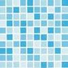 Fólie pro vyvařování bazénů - DLW NGD BLUE - mozaika, 1,65m šíře, 1,5mm