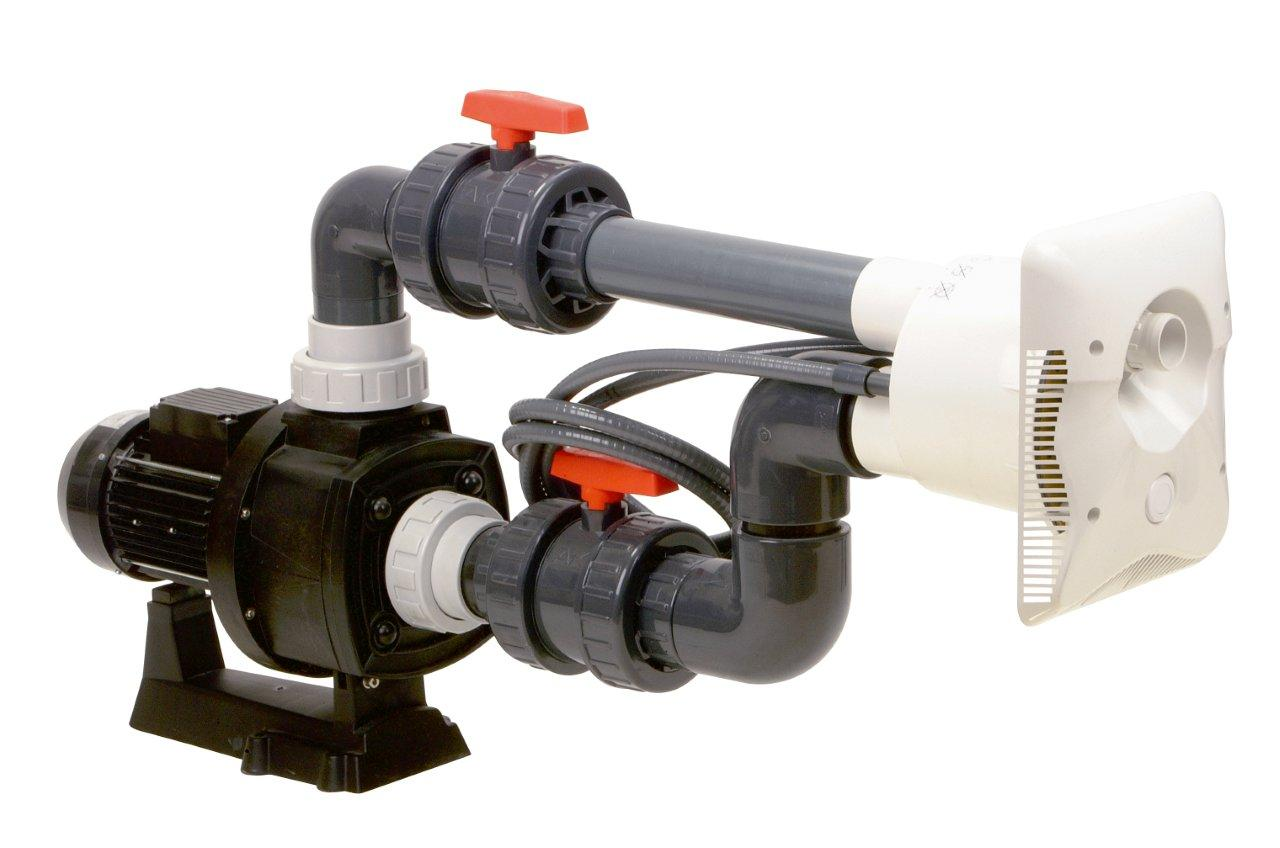 Protiproud K-JET Calipso -- 40 m3/h, 230 V, 2,3 kW, pro fólii a předvyrobené baz