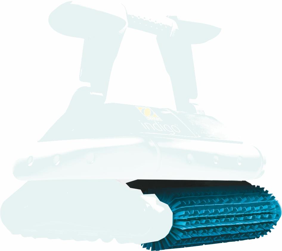 Pěnový kartáč pro robot Indigo