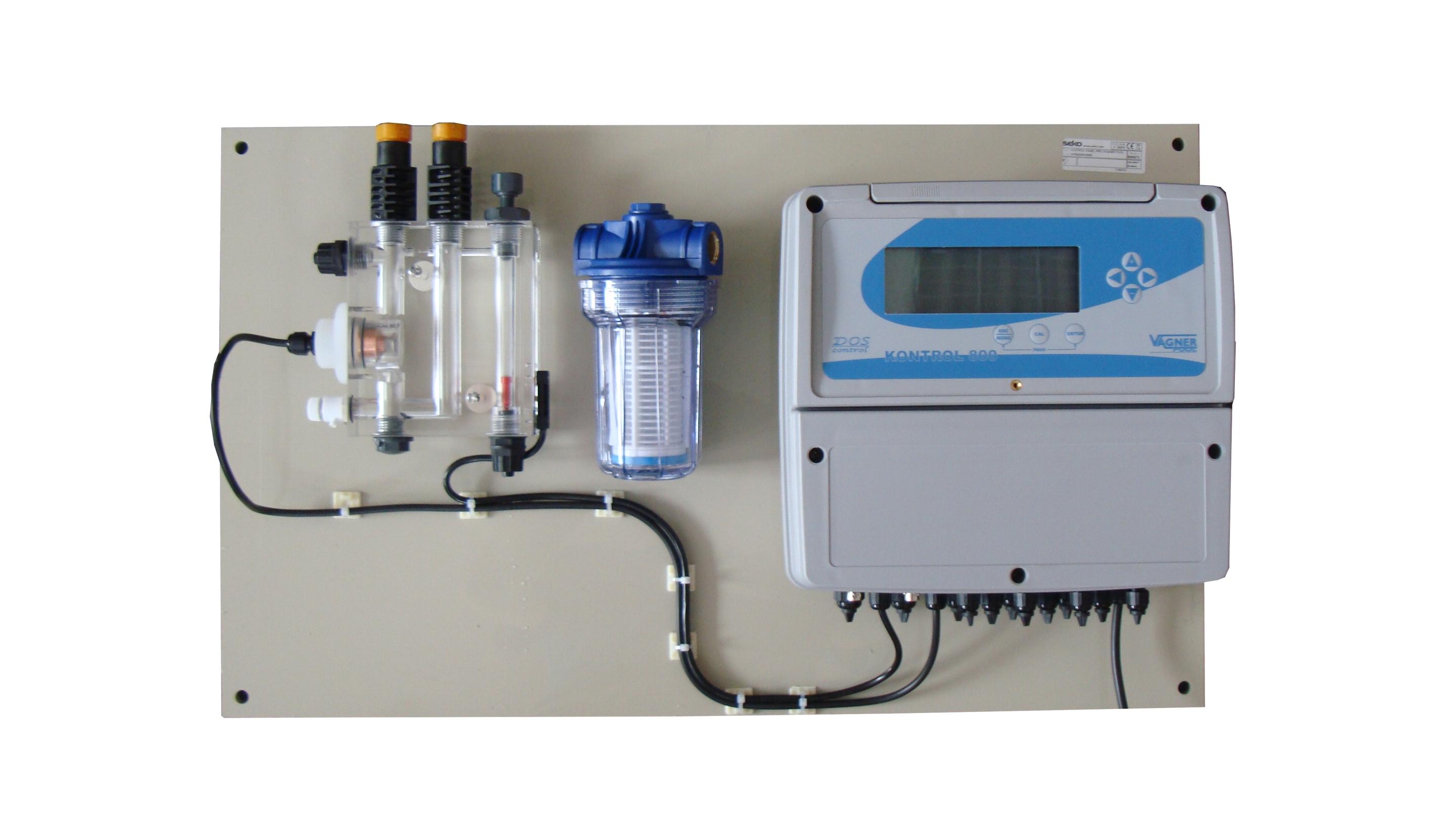 Dávkovací stanice K800 - pH/ORP bez dávkovacích pump