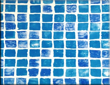 Bazénová fólie - ALKORPLAN 3K - Mosaic; 1,65m šíře, 1,5mm, 25m role
