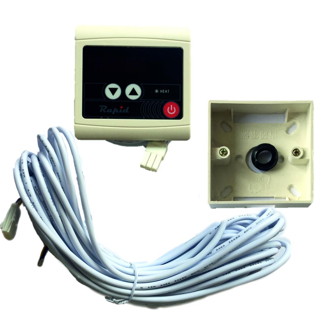 Kábel 10m s krabičkou pre externé pripojenie ovládacieho panelu Rapid, Fairland