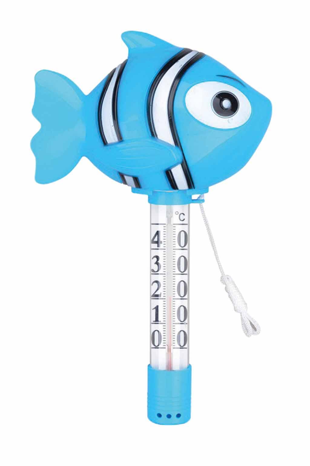 Állatfigurás úszó hőmérő - Nemo kék