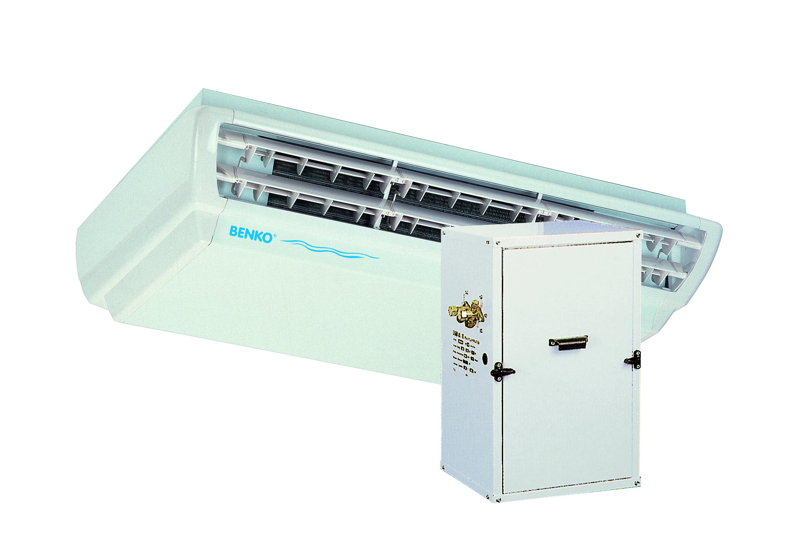 Odvlhčovač BENKO D1400 SC - 3,4kW,plocha 30m2,na strop(ext. kompresor)