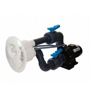 Protiproud V-JET 66 m3/h, 400 V, 2,2 kW, pro fóliové a předvyrobené baz. potrubí Ø 63 mm